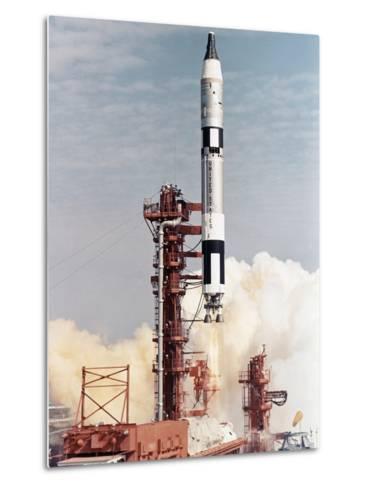 Gemini 12 Space Capsule--Metal Print