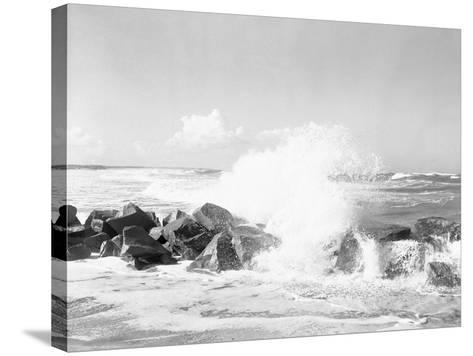 Hurricanes 1950-1957-Jim Kerlin-Stretched Canvas Print
