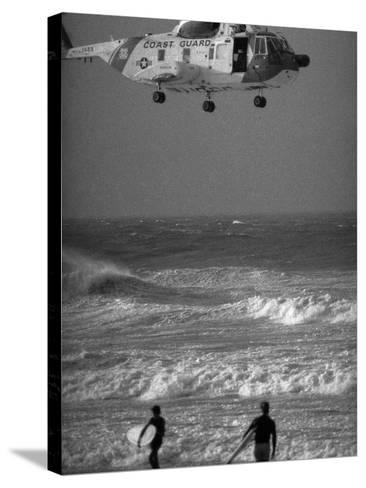 Hurricane Belle 1976-Ed Bailey-Stretched Canvas Print