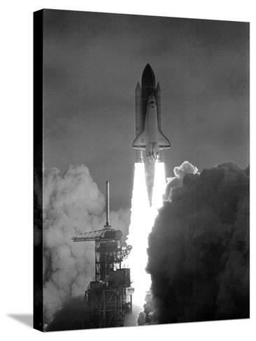 Challenger 1983--Stretched Canvas Print