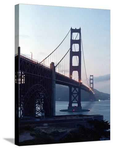 Golden Gate Bridge at Dusk-Eric Risberg-Stretched Canvas Print
