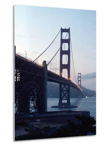Golden Gate Bridge at Dusk-Eric Risberg-Metal Print