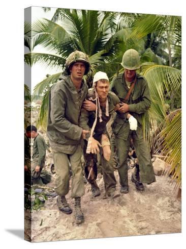 Vietnam War-Associated Press-Stretched Canvas Print