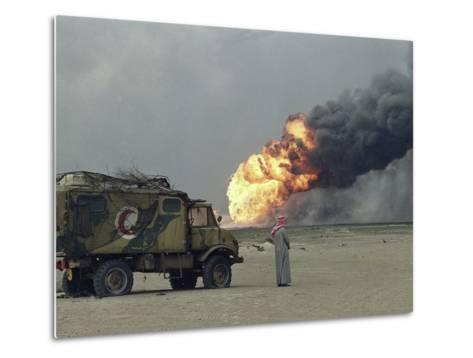 Representative of Kuwait Oil Company-Stephanie Mcgehee-Metal Print
