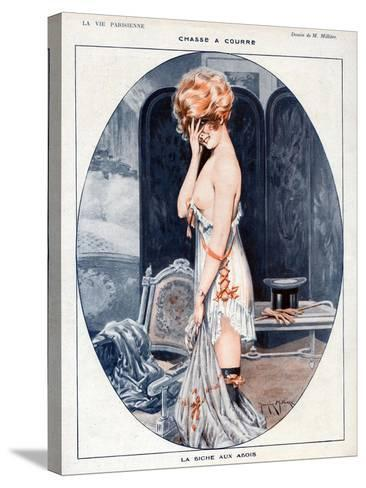 La Vie Parisienne, Maurice Milliere, 1918, France--Stretched Canvas Print