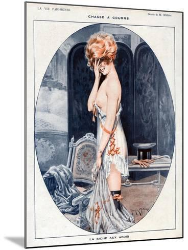 La Vie Parisienne, Maurice Milliere, 1918, France--Mounted Giclee Print