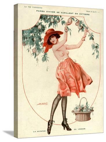 La Vie Parisienne, Leo Fontan, 1918, France--Stretched Canvas Print