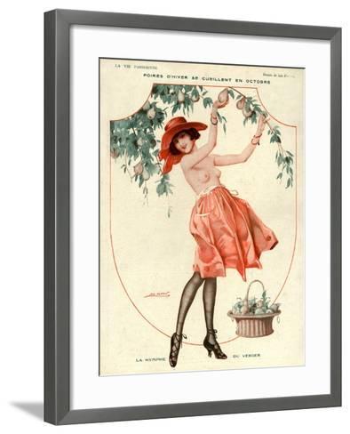La Vie Parisienne, Leo Fontan, 1918, France--Framed Art Print