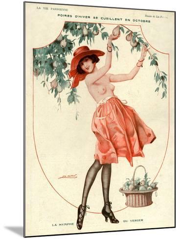 La Vie Parisienne, Leo Fontan, 1918, France--Mounted Giclee Print