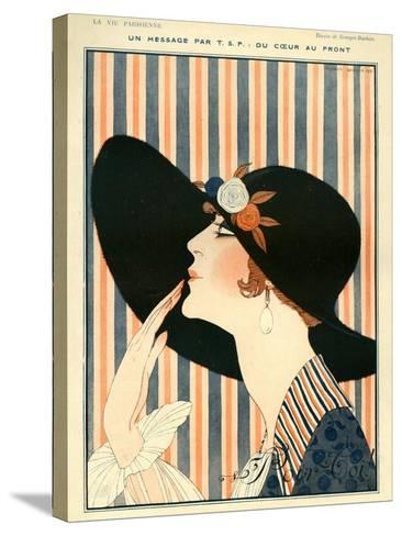 La Vie Parisienne, G Barbier, 1918, France--Stretched Canvas Print