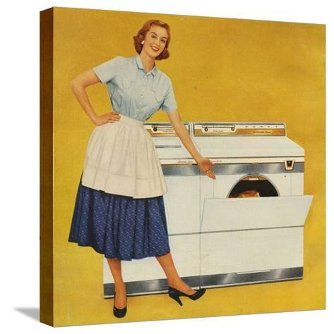 Washing Machines, USA--Stretched Canvas Print