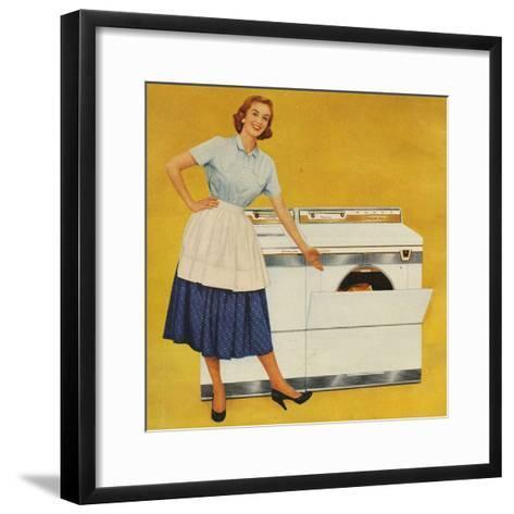 Washing Machines, USA--Framed Art Print