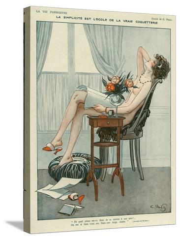 La Vie Parisienne, Georges Pavis, UK--Stretched Canvas Print