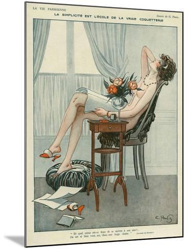 La Vie Parisienne, Georges Pavis, UK--Mounted Giclee Print