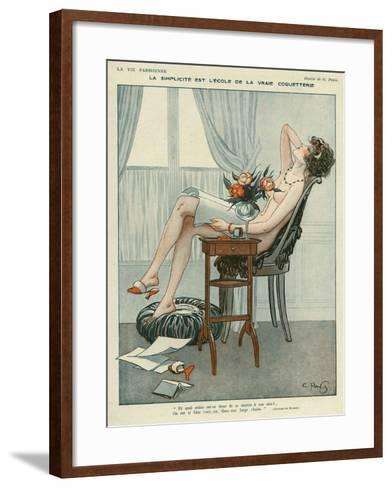 La Vie Parisienne, Georges Pavis, UK--Framed Art Print