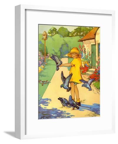 Infant School Illustrations, UK--Framed Art Print