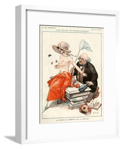 La Vie Parisienne, C Herouard, 1924, France--Framed Art Print