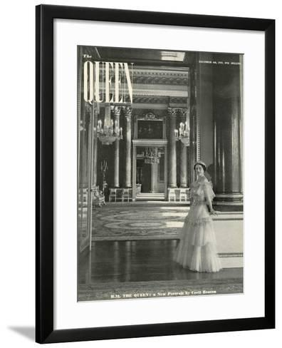 Queen, Queen Elizabeth The Queen Mother, 1939, UK--Framed Art Print