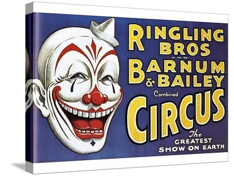 Barnum and Bailey's Circus, USA--Stretched Canvas Print