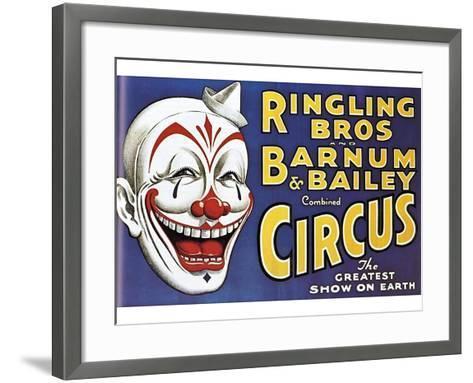 Barnum and Bailey's Circus, USA--Framed Art Print