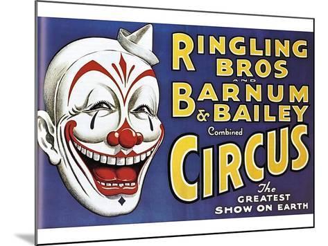 Barnum and Bailey's Circus, USA--Mounted Giclee Print