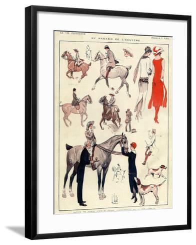 La Vie Parisienne, L Vallet, France--Framed Art Print