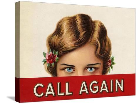 Call Again, USA--Stretched Canvas Print