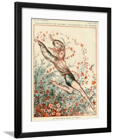 La Vie Parisienne, A Vallee, 1924, France--Framed Art Print