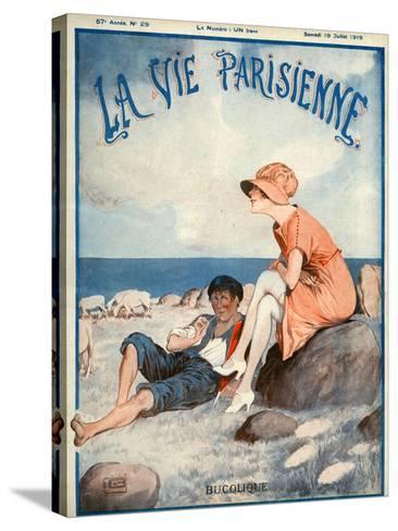 La Vie Parisienne, Georges Leonnec, 1919, France--Stretched Canvas Print
