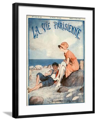 La Vie Parisienne, Georges Leonnec, 1919, France--Framed Art Print
