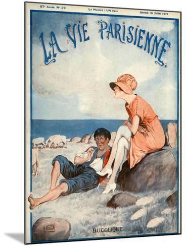 La Vie Parisienne, Georges Leonnec, 1919, France--Mounted Giclee Print