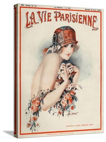 La Vie Parisienne, Leo Pontan, 1924, France--Stretched Canvas Print