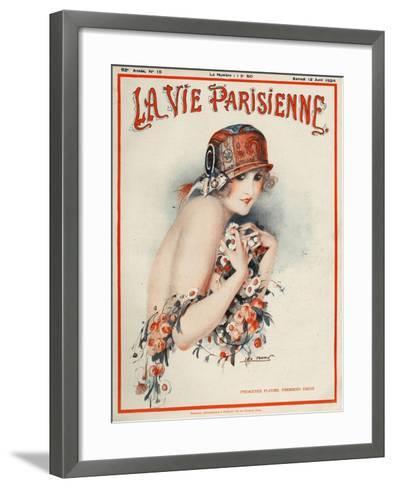 La Vie Parisienne, Leo Pontan, 1924, France--Framed Art Print