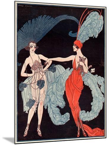 La Vie Parisienne, G Barbier, 1918, France--Mounted Giclee Print