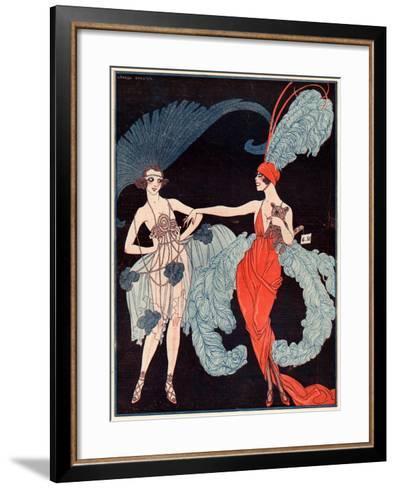 La Vie Parisienne, G Barbier, 1918, France--Framed Art Print