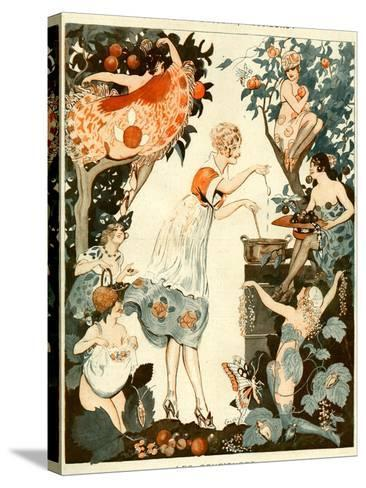 La Vie Parisienne, Vald'es, 1919, France--Stretched Canvas Print