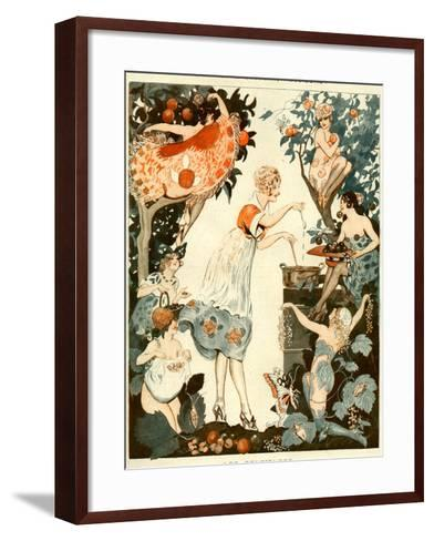 La Vie Parisienne, Vald'es, 1919, France--Framed Art Print