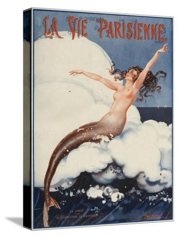 La Vie Parisienne, Leo Pontan, 1924, France--Stretched Canvas Print