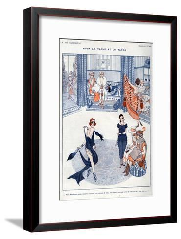La Vie Parisienne, A Vallee, 19119, France--Framed Art Print