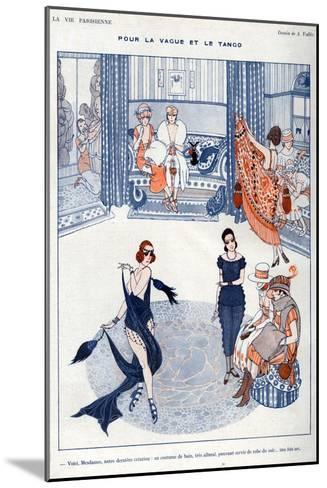 La Vie Parisienne, A Vallee, 19119, France--Mounted Giclee Print