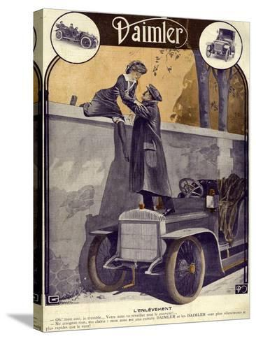 Daimler, Georges Leonnec, 1912, France--Stretched Canvas Print