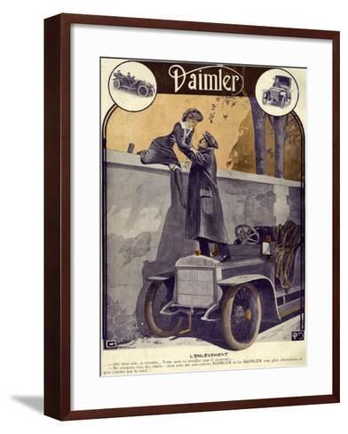 Daimler, Georges Leonnec, 1912, France--Framed Art Print