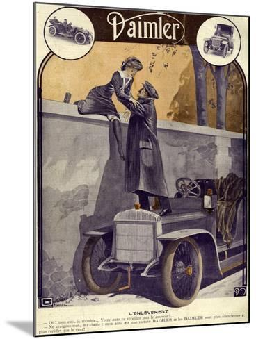 Daimler, Georges Leonnec, 1912, France--Mounted Giclee Print