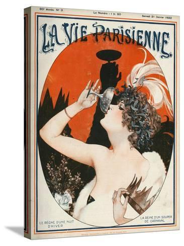 La Vie Parisienne, Cheri Herouard, 1922, France--Stretched Canvas Print