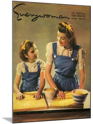 Everywoman, 1943, UK--Mounted Giclee Print