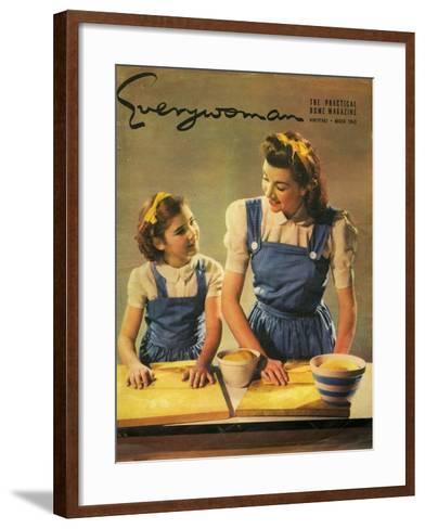 Everywoman, 1943, UK--Framed Art Print