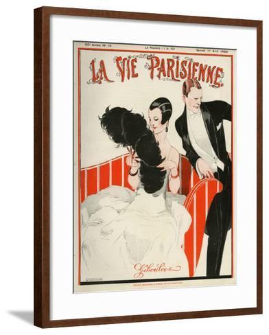 La Vie Parisienne, Rene Vincent, 1922, France--Framed Art Print