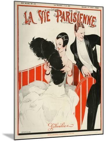 La Vie Parisienne, Rene Vincent, 1922, France--Mounted Giclee Print