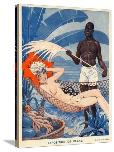 Le Sourire, 1931, France--Stretched Canvas Print