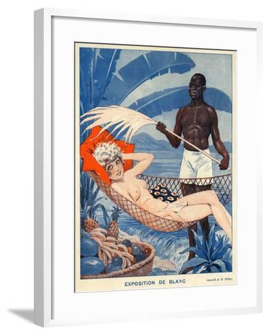 Le Sourire, 1931, France--Framed Art Print